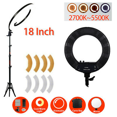 Photography Dimmable Light Kit LED Photo Studio Continuous Lighting Stand Set AU