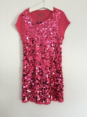 Next Girls Long Disco Top, Age 9 Yrs . Sparkly