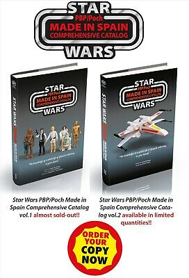 STAR WARS PBP/Poch Made in Spain Comprehensive Catalog Vol 1 & Vol2