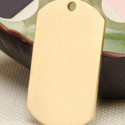 Titanium steel Deluxe Pet Tag Pet ID Dog Kitten Puppy Cat Name Pet Tags