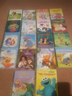Bulk Lot Little Golden Books x 18 - Vintage & Modern Mix - Disney and others
