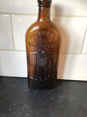 Antique Warner's Safe Rheumatic Cure Bottle C1890