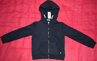 BNWT Young Dimension Primark for Age 6-7 Years Girls Navy Blue Hoodie Cardigan