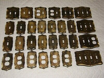 Vintage Lot of 29 Amerock Carriage House Outlet Light Switch Cover Plates
