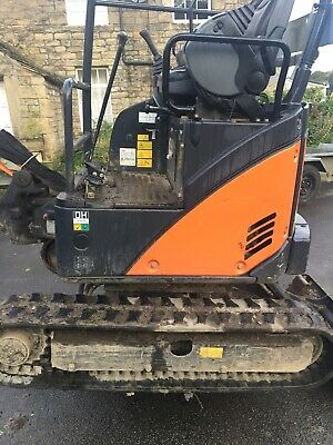 Mini Digger 2014 No Vat Px One With A Cab Kubota