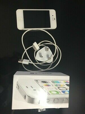 Apple iPhone 4s - 8GB - White (O2) excellent condition