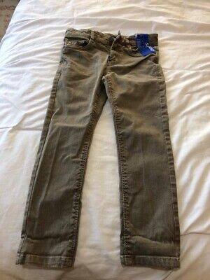 Next jeans brown Denim adjustable waist age 4 yrs. Brand New With Tags