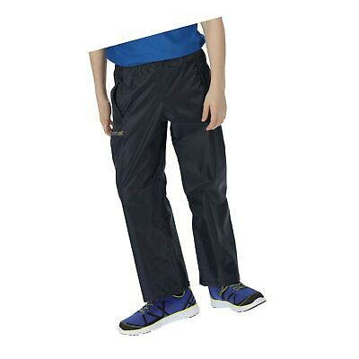 Regatta Kids Stormbreak Overtrousers 7/8 Years Navy