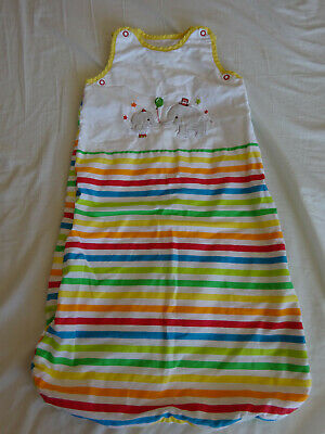 Mothercare Striped Baby Pouch, 0-6 months, Sleeping Bag, 1 Tog