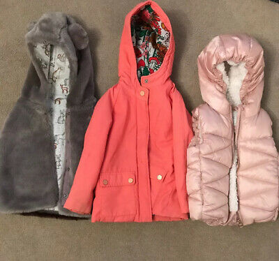 Next Girls  Jacket And Gillete Size 3-4 Years
