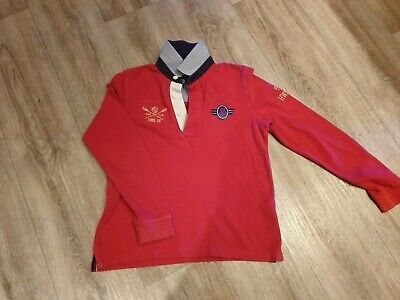 Boys red Howick long sleeve top age 7 - 8