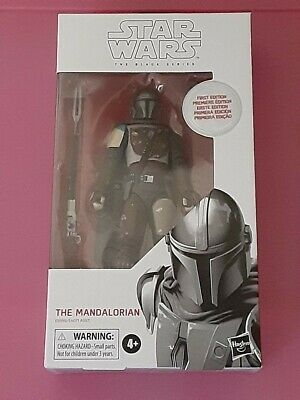 "Star Wars Black Series The Mandalorian FIRST Edition 6"" Action Figure"