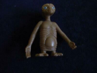 E.t.  Hard Plastic Figurine   By Kraft