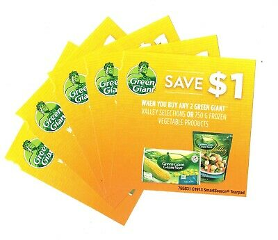 15x Save $1 on Green Giant Frozen Vegetable Products Coupons (Canada)