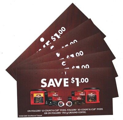 14 x Save $1.00 Folgers Coffee Product Coupons (Canada)