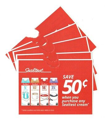 14 x Save $0.50 on Sealtest Cream MARCH2020 Coups (Canada)