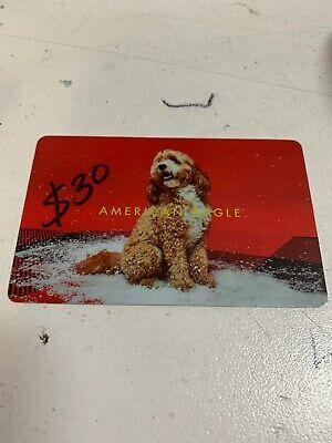 $30 American Eagle Gift Card For $25.95 Only Plus Fast Free Shipping !