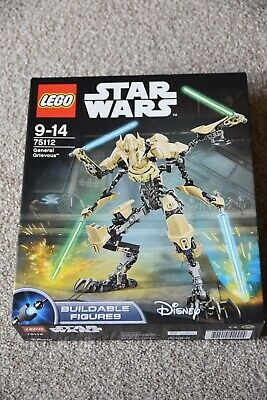 STAR WARS LEGO 75112 GENERAL GRIEVOUS BUILDABLE FIGURE Brand New & Sealed Set