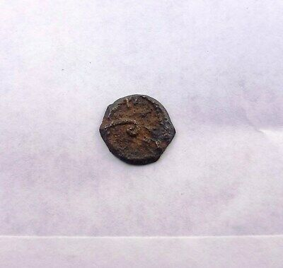 Pontius Pilate 29 AD  Judea Jesus Time Rare Authentic Ancient Coin Bronze Prutah