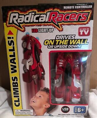 Radical Racers Remote Controlled Wall Climbing Car As Seen on TV RED