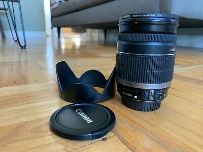 Canon EF-S 18 mm - 200 mm F/3.5-5.6 EF-S IS - Used Black