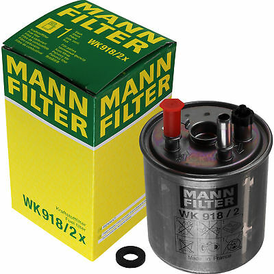 Original MANN-FILTER Kraftstofffilter Fuel Filter WK 918/2 x