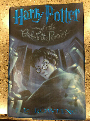 Harry Potter and the Order of the Phoenix Year 5 Hardcover Book w/ Dust Jacket