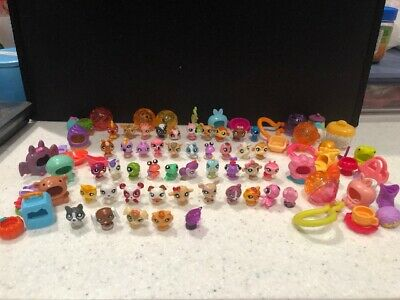 Littlest Pet Shop Teensies Mini Figure 45 Pets with Accesories Bulk Lot