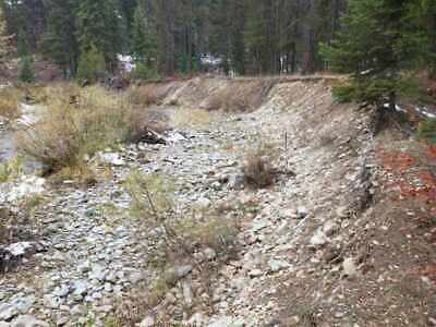 Gold Mine Historic Big Creek Gold Placer Claim 20 Acre   Saint Regis Montana
