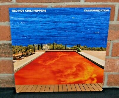 RED HOT CHILI PEPPERS - Californication, Import 2LP BLACK VINYL New & Sealed!