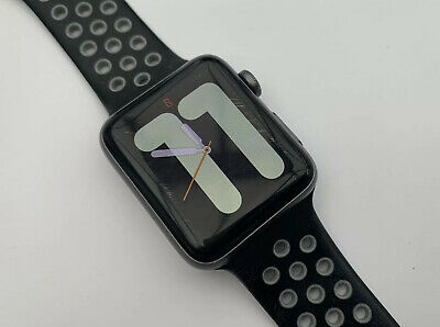 Apple Watch Series 2 42mm Space Grey with Sport Band & charger