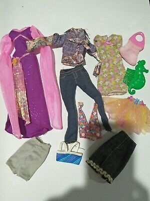 Bulk lot 1990/2000s Barbie My Scene clothes outfits #2