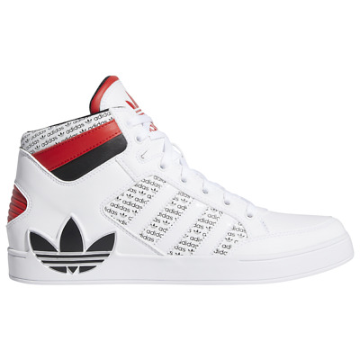 Brand New Men's Adidas Originals Hard Court Athletic Basketball Sneakers | White