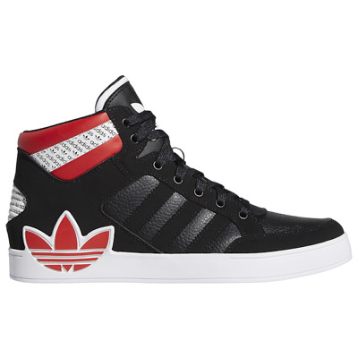 Brand New Men's Adidas Originals Hard Court Leather Athletic Sneakers | Black