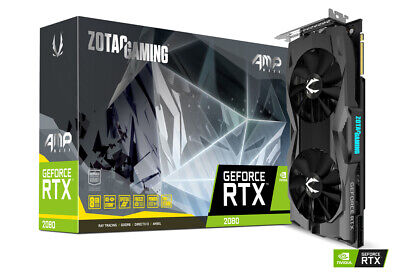 ZOTAC GAMING GeForce RTX 2080 AMP MAXX 2 YEARS WARRENTY