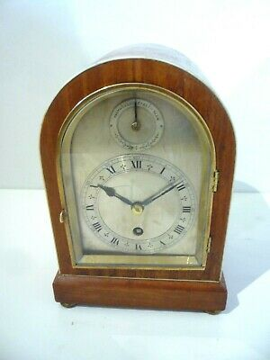 BRACKET CLOCK-. - Coventry Asral Movement.