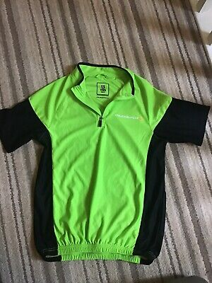 Boys Or Girls Cycling Jersey Top Age 12 - 13 Rear Pockets Zipped MUDDYFOX