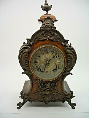 Lenzkirch Clock in French Louis XVI Style 19th Century (Working needs refurb)