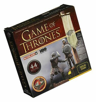 Game of Thrones Banner Pack Stark Construction Set (Brown/Grey)