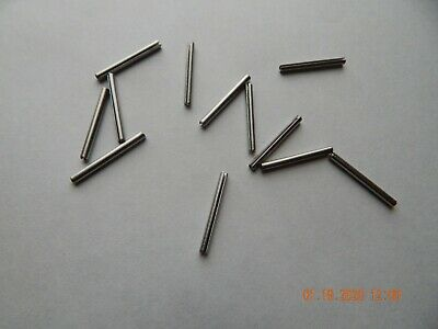 "STAINLESS STEEL ROLL PINS  3/32 x 1""  18-8  15 PCS.  NEW"