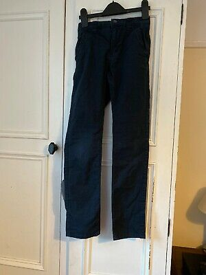 Next Boys Chinos Age 10 Years Navy Blue