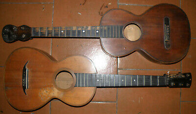 2 old probably French Romantic master guitars Thomassin Paris ~1830 Biedermeier