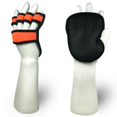 1 Pair Anti Slip Barbell Gym Weight Lifting Training Gloves Unisex Dumbbell
