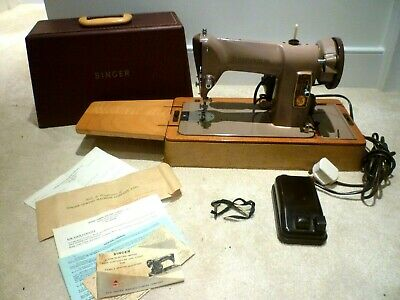 Unique Singer 185k Sewing Machine-~Circ Around 1959-Excellent Original Condition