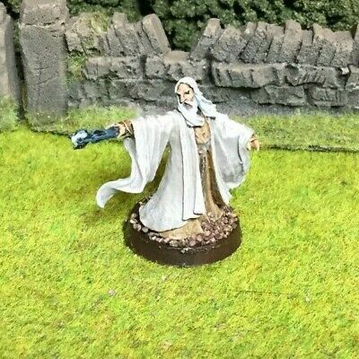 Pro Painted Saruman Metal Miniature - Lord of the Rings LOTR Hobbit Middle Earth