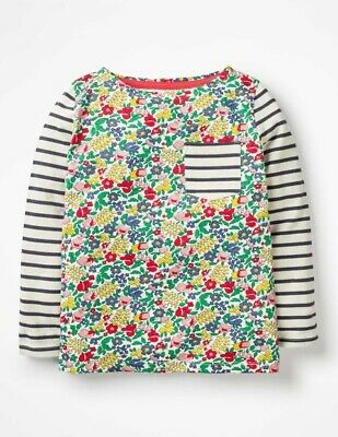 Ex Mini Boden Flowerbed Hotchpotch Tops  2 3 4 5 6 7 8 9 10 11 12 Yrs