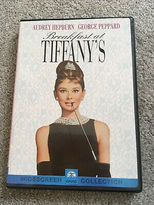 Breakfast At Tiffanys Region 1 Dvd
