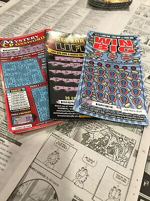 (175) California Lottery tickets $10 Second Chance Scratchers 2nd Redeemable