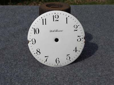 Seth Thomas Convex Porcelain Dial Novelty Desk Shelf Clock