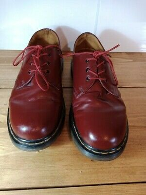 Dr Martens size 8 Oxblood Cherry Red 1461 Shoes